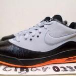 Nike Air Max LeBron VII Low Wolf Grey/Total Orange-White Sample