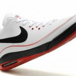 Nike Air Max LeBron VII Low: White/Black/Red & White/Gum
