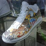 Air Max LeBron VII Artist Series Washington by Cynthia Rudzis