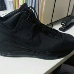 "Nike Air Max LeBron VII (7) ""All Black Everything"" (Jay-Z) PE"