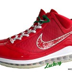 Another Look at Big Apple Nike LeBron VII. Xmas' Comparison.