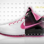 "LeBron James X ""Box Out Breast Cancer"" Air Max LeBron VII's"