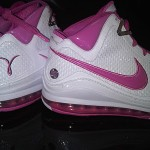 Nike Air Max LeBron VII PE: Breast Cancer Awareness (White)