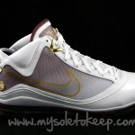 "First Look: Nike Air Max LeBron VII ""Christ the King"" Home PE"