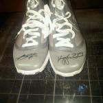 James' Autographed Nike Air Max LeBron VII Scavenger Hunt