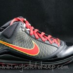 "First Look: Air Max LeBron VII ""Fairfax"" Away Player Exclusive"
