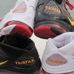 Nike Air Max LeBron VII (7) Fairfax Lions Home & Away PEs
