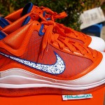 Nike Air Max LeBron VII Hardwood Classic Orange PE New Images