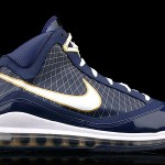 """Upcoming Nike Air Max LeBron VII """"University of Akron"""" First Look"""