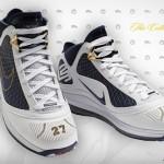 Nike Air Max LeBron VII New York Yankees Promo Colorway