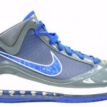 "LeBron VII Grey/Royal New Pics. ""Cool Grey"" Pack Coming in March"