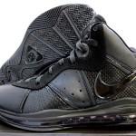 Closer Look at Nike LeBron 8 417098-001 Black/Black-Anthracite