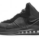 Release Reminder: Nike Air Max LeBron 8 Black/Anthracite