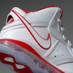Nike LeBron 8 White/Sport Red China Exclusive Colorway