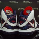 Nike LeBron VIII 417098-100 White/Navy/Red Coming on 11/24