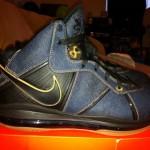 """Nike Air Max LeBron 8 – """"Denim"""" – New Images"""