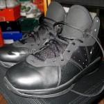 "Nike Air Max LeBron 8 V/1 ""Triple Black"" Wear Test Sample"