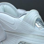 Nike Air Max LeBron VIII Kids Size All White Sample – Unteasered