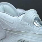 Nike Air Max LeBron VIII Kids Size All White Sample – Unteasered