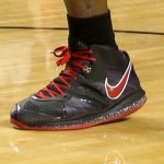Detailed Look at Nike LeBron 8 V2 Black & Red Player Exclusive