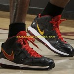 Detailed Look at Yet Another Miami Heat Nike LeBron 8 V2 PE