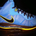 "Leaked: Nike Air Max LeBron V2 Blue/Yellow/Black ""Entourage"""