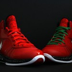 Fresh Look at Nike LeBron V/2 Christmas Exclusive with Red Laces