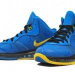 """Nike LeBron 8 V2 """"Entourage"""" Photo Blue/Black-Tour Yellow"""