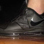 First Look: Nike Air Max LeBron 8 V/2 Low Triple Black Colorway