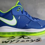 "Nike LeBron 8 V2 Low Treasure Blue/Volt ""<strike>Sprite</strike>"" New Pics"