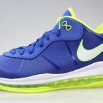 "Nike LeBron 8 V/2 Low ""Sprite"" Available at Eastbay. Full Size Run."