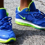"""New Detailed Look at Nike LeBron 8 V2 Low """"Sprite"""""""
