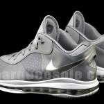 Fresh Nike LeBron 8 V2 Low in New Metallic Silver Style