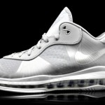 Another Look at Nike LeBron 8 V2 Low in Wolf Grey/White/Silver