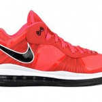 "New Photos of LeBron 8 V2 Low ""Solar Red"". Possible August Drop."