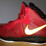 "Nike Air Max LeBron 8 V/2 ""Miami Heat"" Player Exclusive"
