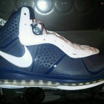 Nike Air Max LeBron 8 V2 Navy/White/Silver New Images