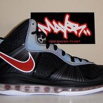 "PE Spotlight: Nike Air Max LeBron 8 V2 ""Portland"" Alternate PE"