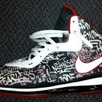 "LeBron Unveils new LeBron 8 ""NYC"" PE at Goodman vs Melo League"