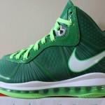 Sample: Nike LeBron 8 V2 Victory Green & Electric Green