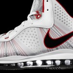 Nike Air Max LeBron 8 V2 White/Black/Red Official Unveiling