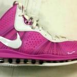 "Nike Air Max LeBron 8 V/2 Swin Cash ""Think Pink"" PE"