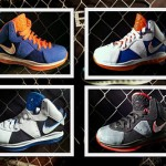 Nike LeBron 8: New York x 2, Charcoal, White & Blue, and More