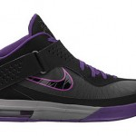 Nike Soldier 5 Black / Purple / Grey Available at Nikestore