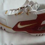 "Nike Air Zoom Generation ""First Game"" Gold Swoosh Sample"