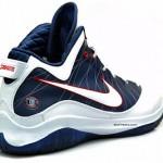 Nike LeBron 7 P.S. w/Zoom Air – Actual Photos – White/Navy
