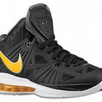 Nike LeBron 8 P.S. Eastbay Catalog Images: Black & Yellow