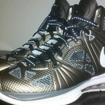 "Detailed Look at Nike LeBron 8 P.S. ""Gun Metal"" PE"