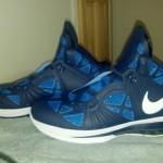 "PE Spotlight: Nike LeBron 8 ""Post Season"" Navy PE"