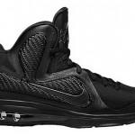 """Upcoming Nike LeBron 9 """"Triple Black"""" Catalog Images"""